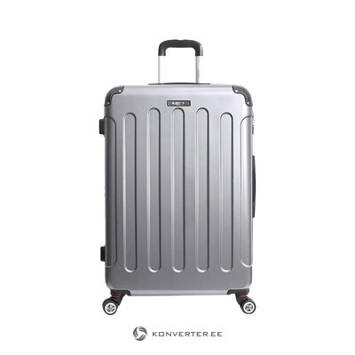 Gray suitcase in tunis (bluestar)