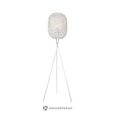 White floor lamp rope (besselink licht)
