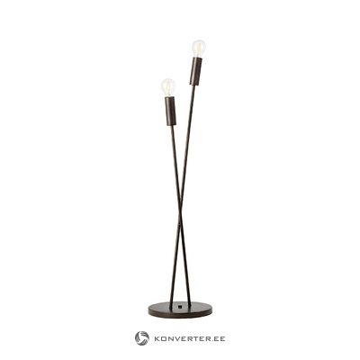 Black floor lamp fila (brilliant)