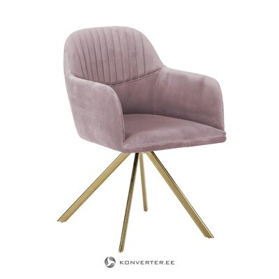 Purple swivel chair (lola)