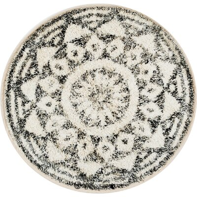 Pyöreä matto boho-tyyli (hkliving)