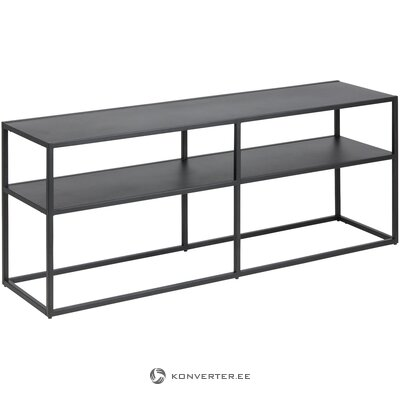 Metal black TV stand (actona) (with beauty defect, hall sample)