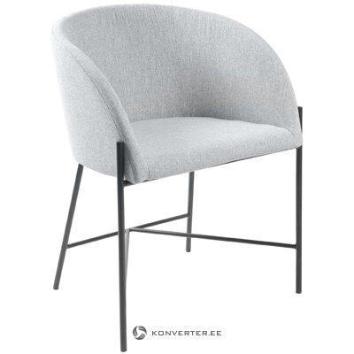 Light gray-black chair (interstil dänemark)