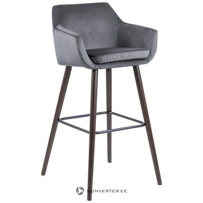 Gray bar stool nora (actona)