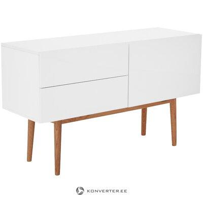 Белый глянцевый шкаф (zuiver)