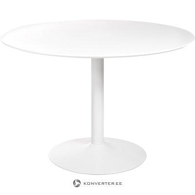 Valkoinen ruokapöytä Ibiza (Actona)