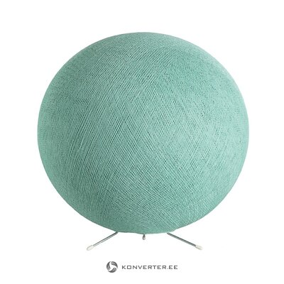 Green table lamp green (cotton ball)