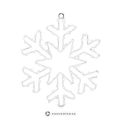 Led decorative luminaire snowflake (inart)