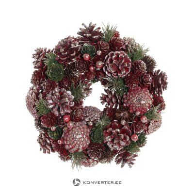 Christmas wreath noemie (detall item)
