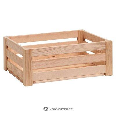 Puinen säilytyslaatikko (selleri)