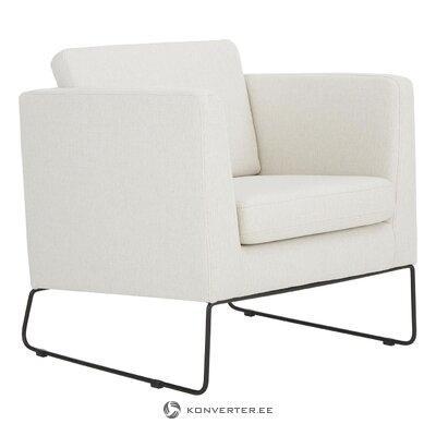White armchair (milo) (hall sample)