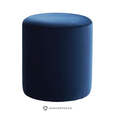 Blue velvet fence (jotex) (whole, hall sample)