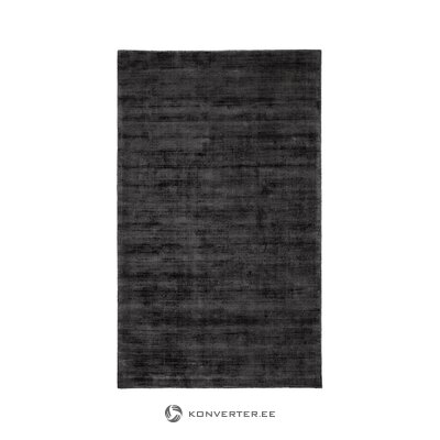 Black viscose carpet (jane) (whole, in a box)