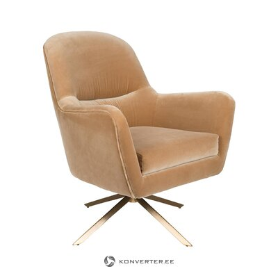 Кресло поворотное robusto (zuiver) (с недостатками красоты, холл образец)