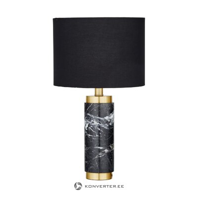 Black-gold table lamp (miranda) (defective hall sample)