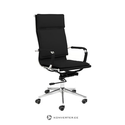 Black office chair premier (tomasucci) (whole, hall sample)