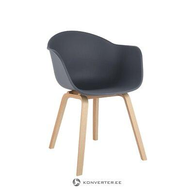 Pelēkbrūns krēsls (Claire) (veselīgs, paraugs)