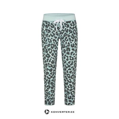 Women's leopard sweatpants (juvia) (whole, swatch)