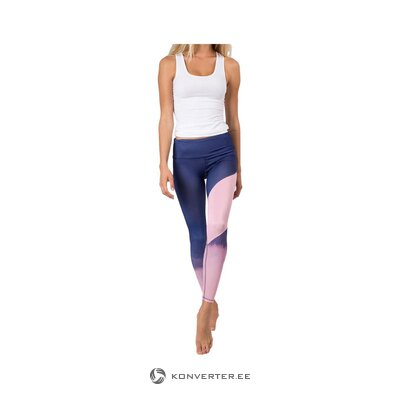 Women's aquarel (vio yoga) leggings (healthy, sample)
