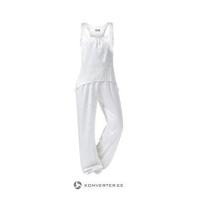 Zīda sieviešu pidžama pierrot (mājas koncepcija) (viss, zāles paraugs)