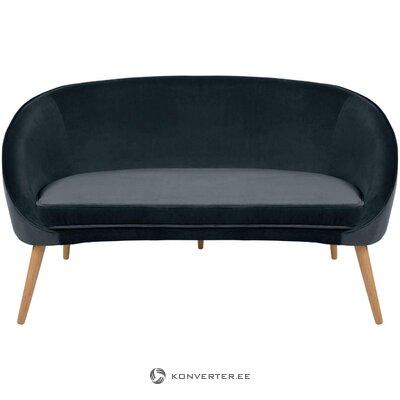 Tumši pelēks dīvāna safīrs (Zago)