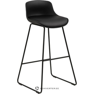 Faux leather bar stools (tin) actona