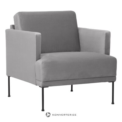 Серое кресло (флейнте)