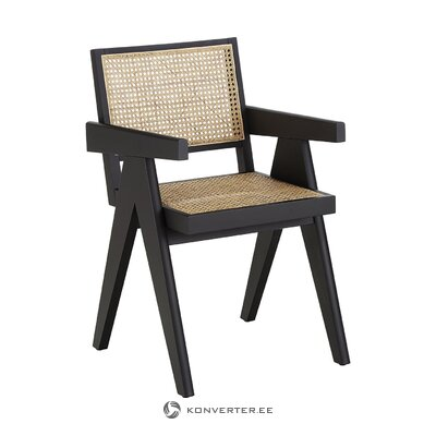 Black-brown chair (guerrilla)