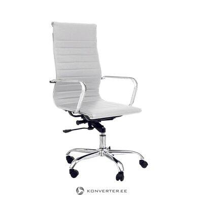 Белый офисный стул linus (tomasucci)