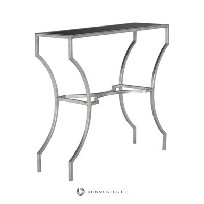 Silver console table graham (safavieh)