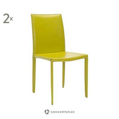 Keltainen tuoli caleb (safavieh)