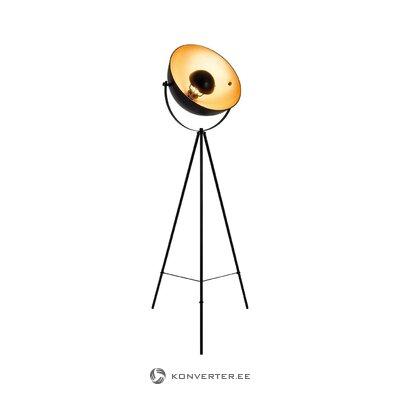 Black floor lamp bernice (facial light)