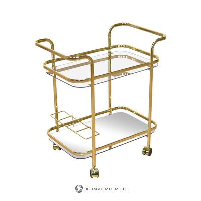 Golden serving trolley marie (heinz hofmann)