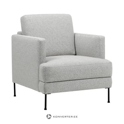 Светло-серое кресло (флейнте)