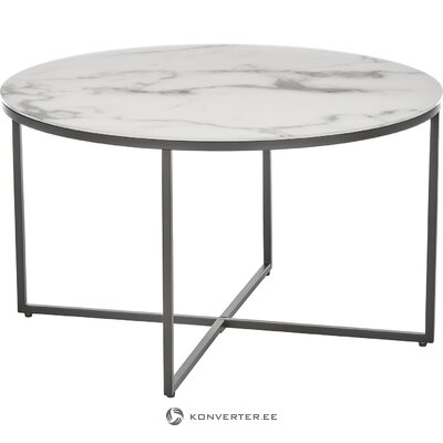 Marble imitation coffee table (antigua) (with flaw, hall sample)
