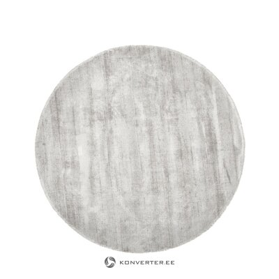 Pilkas apvalus viskozinis kilimas (jane)