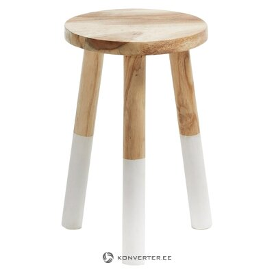 Solid wood stool brocsy (la forma)