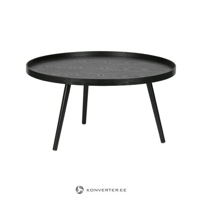 Black coffee table (woood) (whole, in a box)