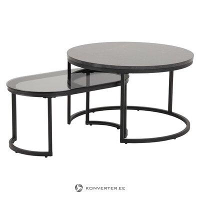 Sofa table set 2-piece spiro (actona)