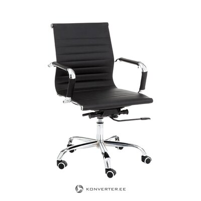 Musta toimistotuolikuppi (tomasucci) (kokonainen)