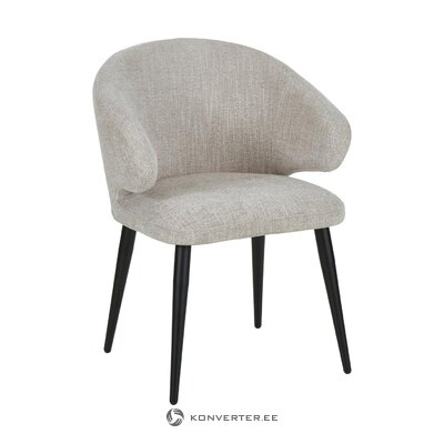 Light gray armchair (celia) (whole)