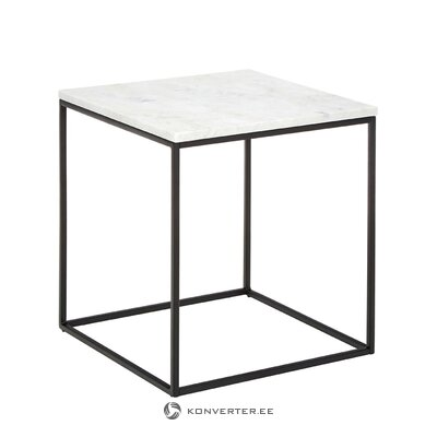 Neliels marmora kafijas galdiņš (alys)