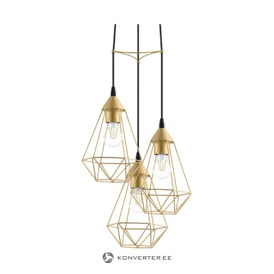 Golden pendant light kyle (miraluz) (whole)