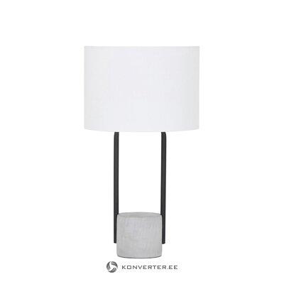 Balta-melna galda lampa (pipero) (vesela)
