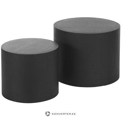 Dark coffee table set (dan) (whole, in a box)