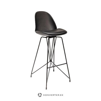Black bar stool wire (rough design) (whole)