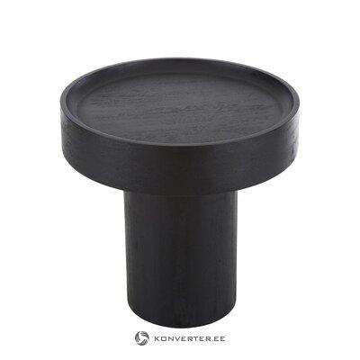 Стол журнальный черный (бенно) (целиком, в коробке)