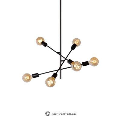 Черный корабельный светильник lester (lucide)