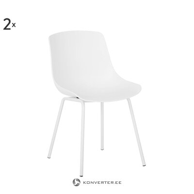 White chair (dave) (whole)