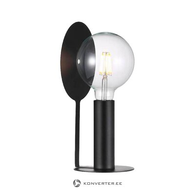 Melna galda lampa klarisā (Nordlux) (vesela, kastē)